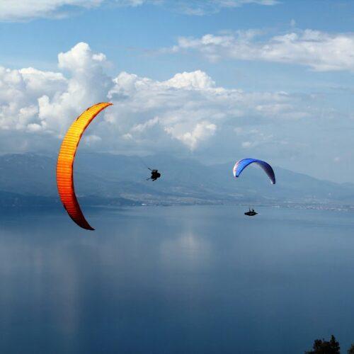 Airzone Gleitschirmreise Mazedonien Wingover Ohridsee