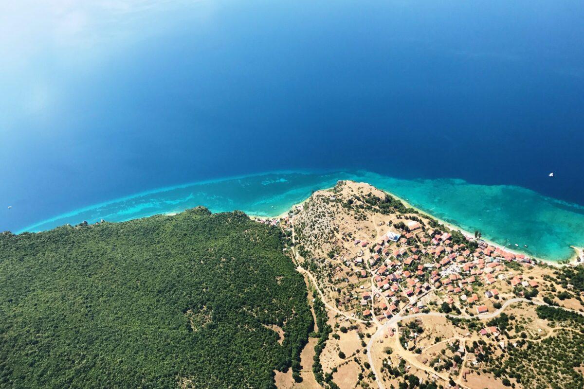 Airzone Gleitschirmreise Mazedonien Ohridsee Badestrand