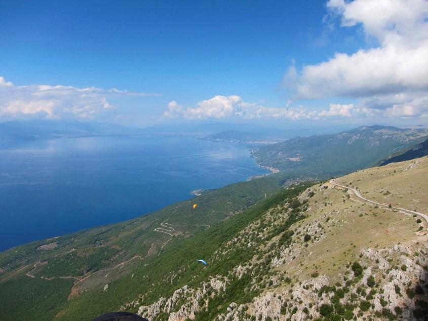 Airzone Gleitschirmreise Mazedonien Fliegen am Ohridsee