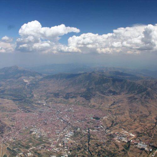 Airzone Gleitschirmreise Mazedonien Wolken über Prilep