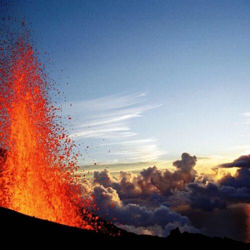 Gleitschirmreise La Reunion Lava Piton de la Fournaisse