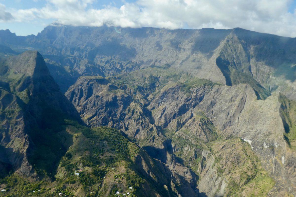 Gleitschirmreise La Reunion Maido Krater