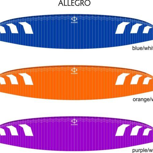 phi allegro farben