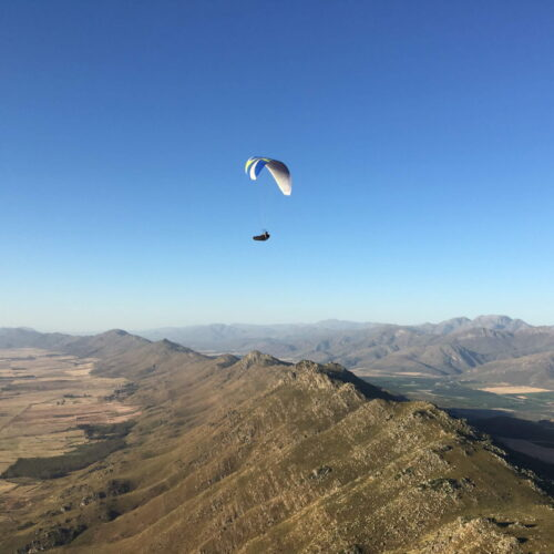 Flugreise Südafrika Gleitschirmreise XC Fliegen Porterville