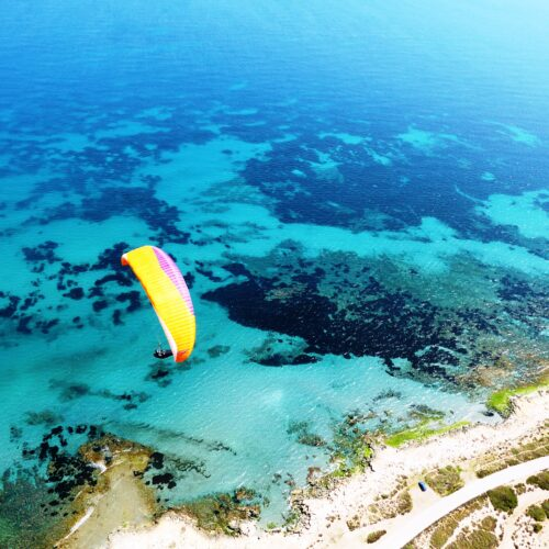 Gleitschirmreise Alicante soaren am Meer